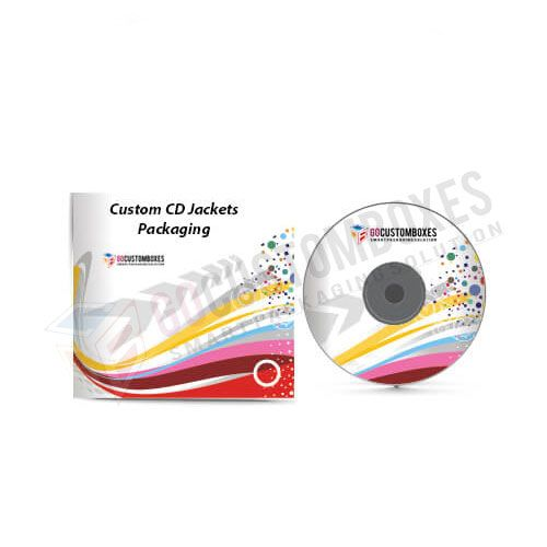 CD jackets packaging
