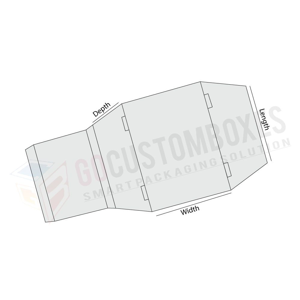 Cheap Sleeve With Tapered Side Panel