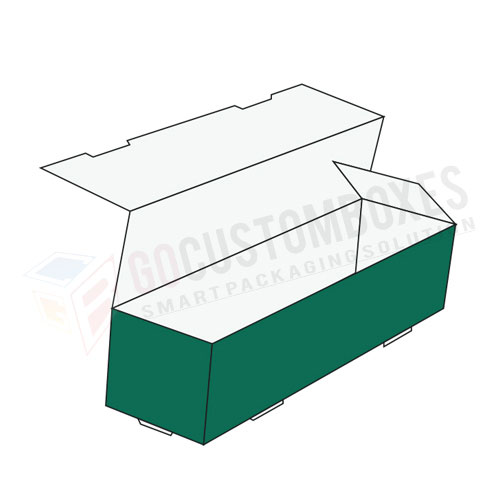 Full Flat Double Tray Packaging