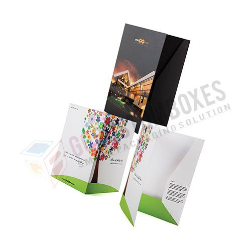 Personalized Designs of Folders Printing