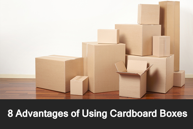 8 Advantages of Using Cardboard Boxes