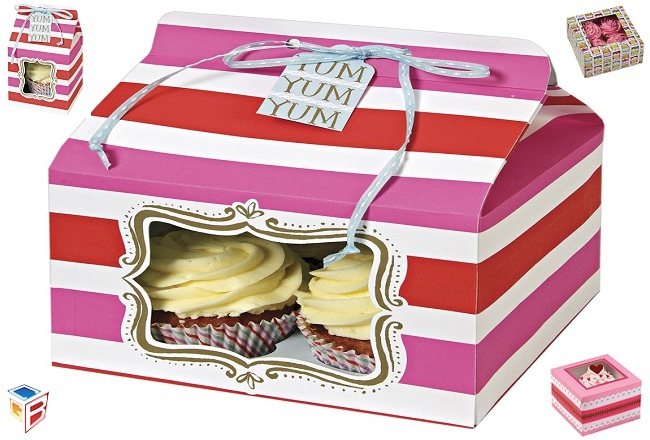 You can get your Favorite Cupcake Boxes at Single Click