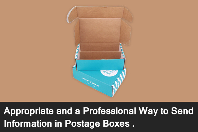 Appropriate And A Professional Way To Send Information in Postage Boxes