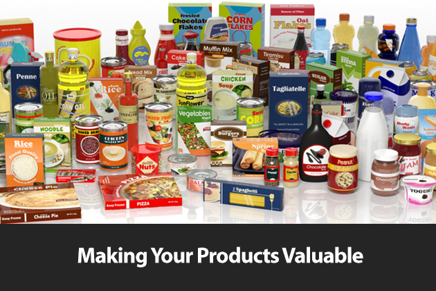 Making your Products Valuable