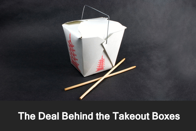 The Deal Behind the Takeout Boxes