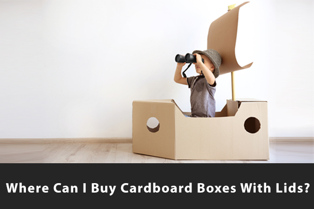 Where Can I Buy Cardboard Boxes With Lids?