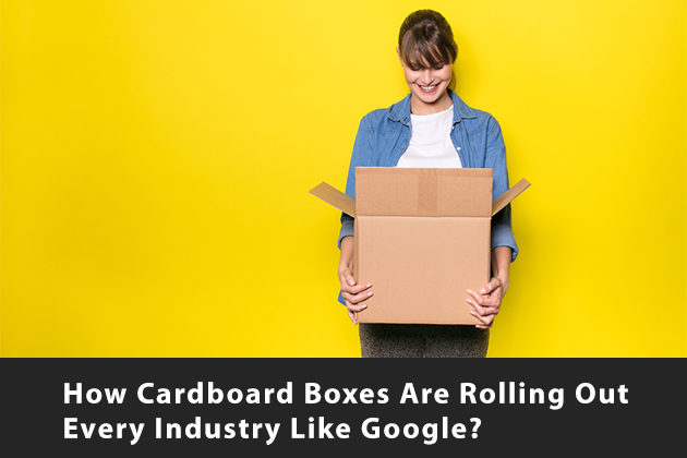 How Cardboard Boxes are Rolling Out Every Industry Like Google?