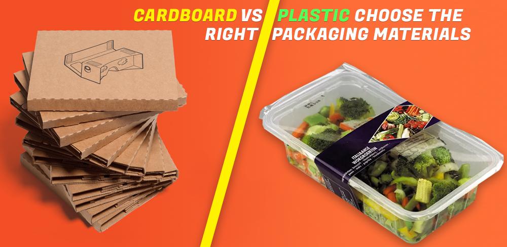 Cardboard Packaging Vs Plastic Packaging - Choose The Right One