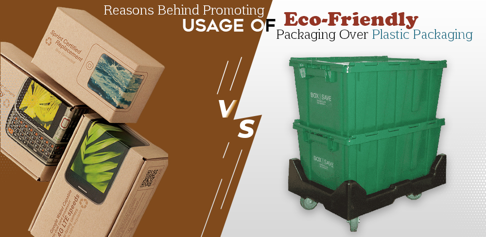 Reasons behind Promoting Usage of Eco-Friendly Packaging over Plastic Packaging