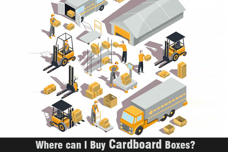 Where can I Buy Cardboard Boxes?