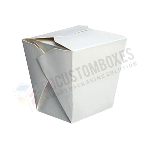 Chinese food boxes template