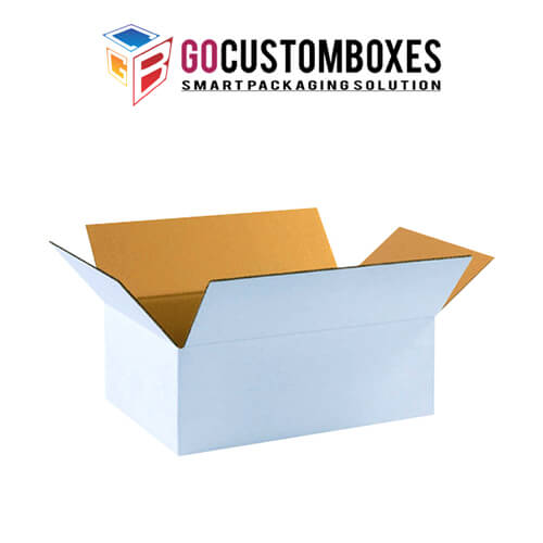 White Corrugated Packaging