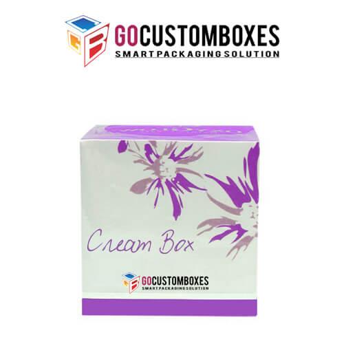 cream gift boxes