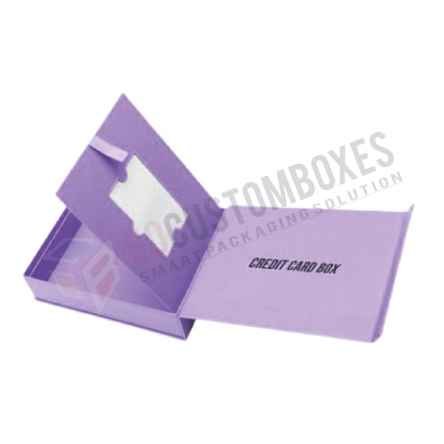 credit card box holder