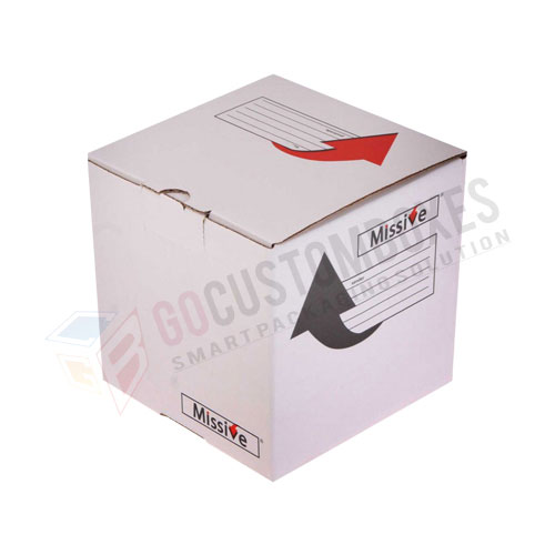cube packaging printing