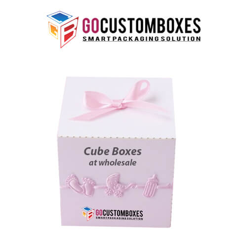 Cube packaging Design