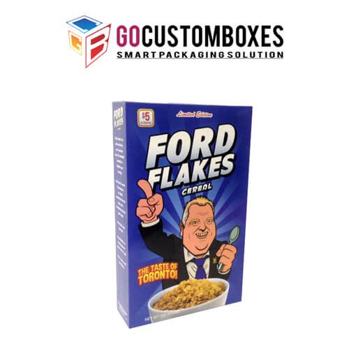 Buy Cereal Box With Customization & Discount