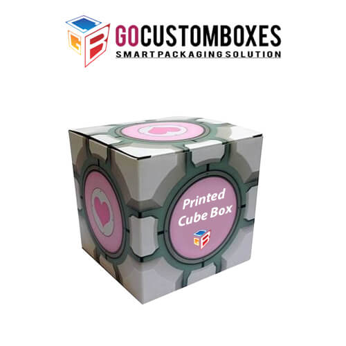 Custom Cube packaging