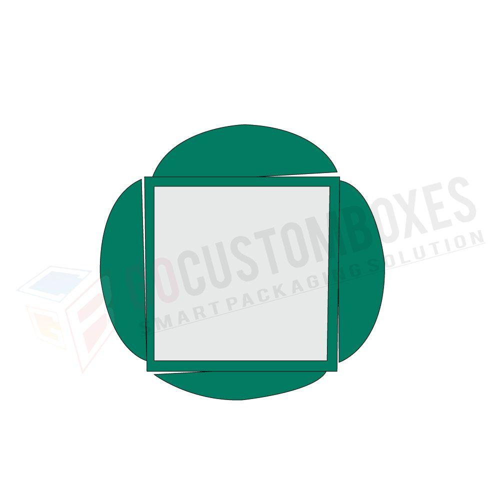custom half circular interlocking top flaps wholesale