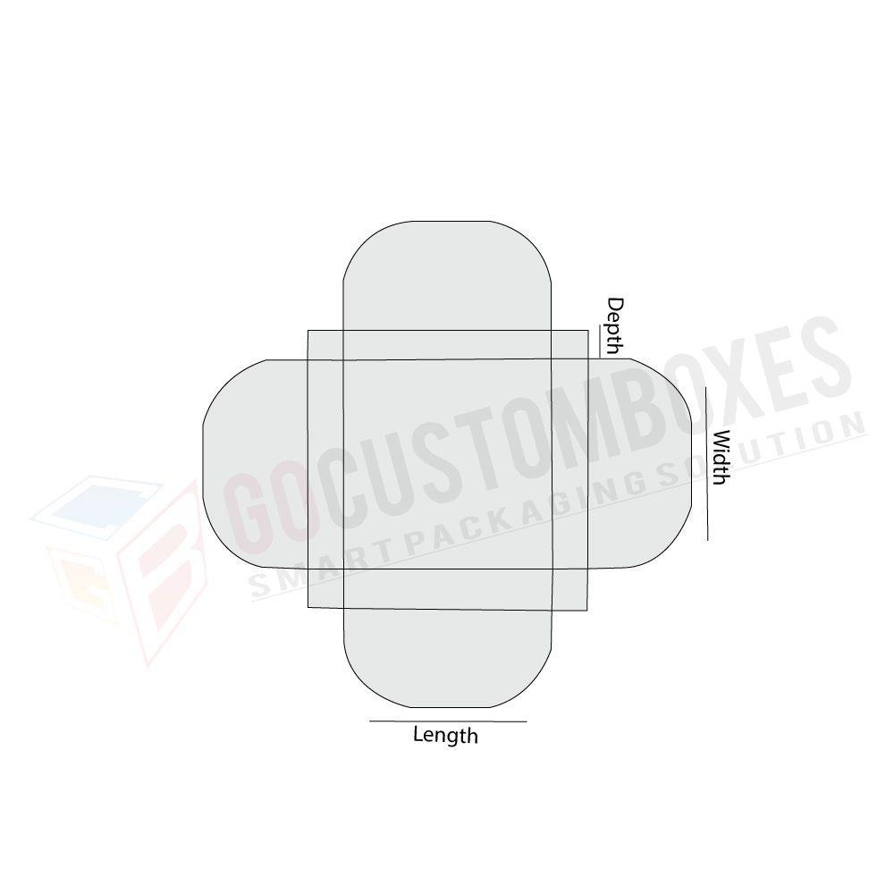 custom half circular interlocking top flaps