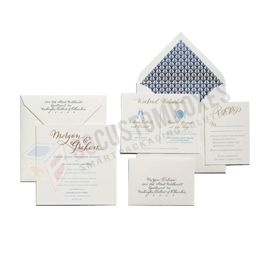 custom printed invitation boxes