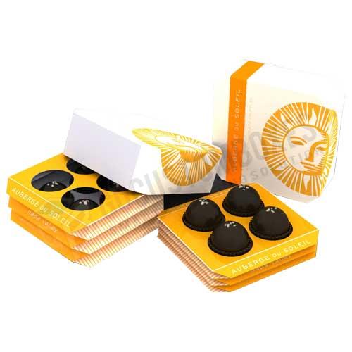 custom style truffle boxes
