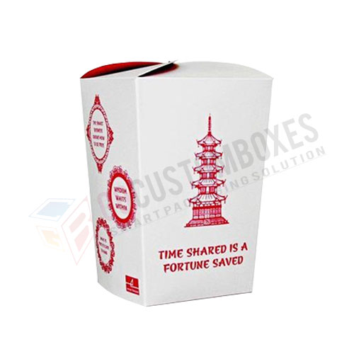 customized Chinese food box