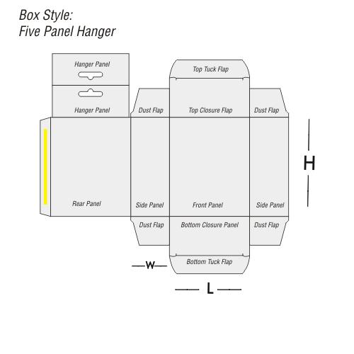 Five Panel Hanger Printing