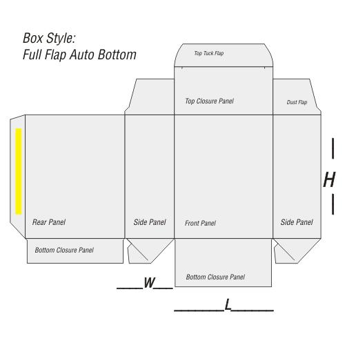 Full Flap Auto Bottom Printing