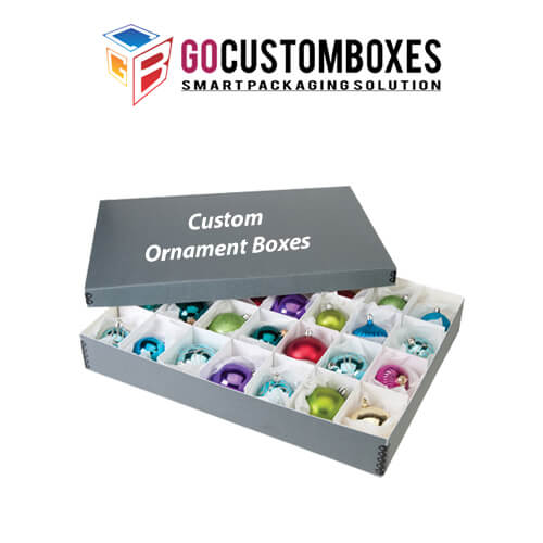 individual ornament boxes
