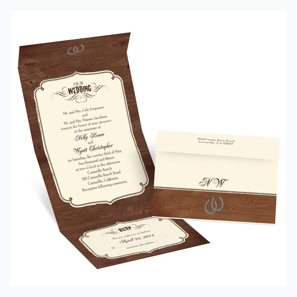 Printed Wedding Card Boxes