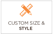 Custom size and style