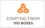 Starting from 100 boxes