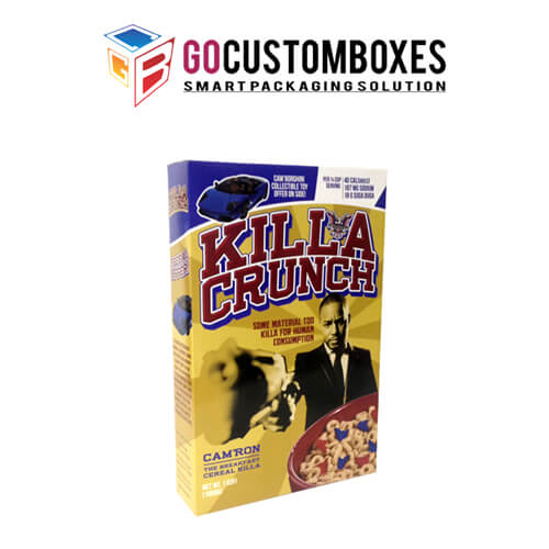 cereal packaging