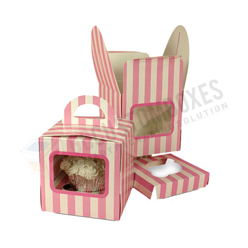 window cupcake box